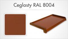 Ceglasty RAL 8004