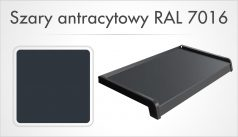 Szary antracytowy RAL 7016