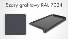 Szary grafitowy RAL 7024