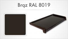 brąz RAL 8019