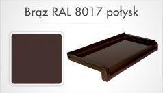 braz RAL 8017 połysk
